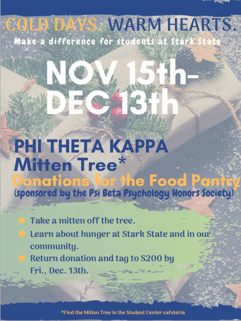 MItten Tree Donation Poster